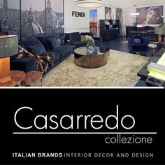 Fendi Casa Exclusive To Casarredo. See The Full Range In Store. Www.