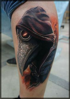 Steampunk Plague Doctor Tattoo~