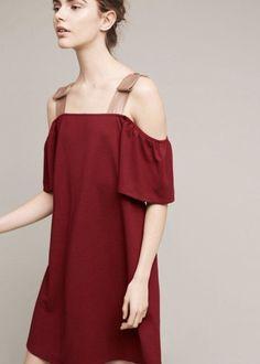 Anthropologie Flutter Sleeve Dress #FashionTrendsSs17
