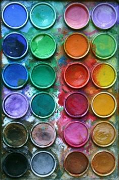 """""""can you paint with all the colors of wind? The Artist's Way, Rainbow Aesthetic, Color Of Life, Color Theory, Rainbow Colors, All The Colors, Color Inspiration, Painting & Drawing, Watercolor Art"""