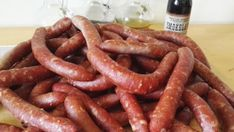 Frankfurterki klasyczne podwędzane, wieprzowe Homemade Sausage Recipes, Kielbasa, Smoking Meat, The Cure, Moon Beach, Blue Moon, Food, Opera, Dinners