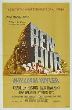 Ben Hur (1959) 7/10 - Picture, Director, Actor, Supporting Actor