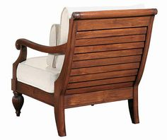 British Colonial chair