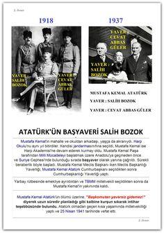 1918-1937 Atatürk'ün Yaverleri Salih Bozok ve Cevat Abbas Güler