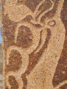 Deer stones in central Mongolia