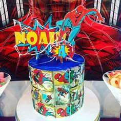 Amazing Spider-Man cake by Liliana Da Silva from Sugarella Sweets Man Cake, Amazing Spider, Cakes And More, Cake Ideas, Spiderman, Wedding Cakes, Sweets, Baby Shower, Photo And Video