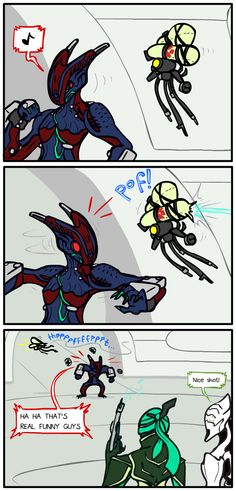 Diriga and sharpshooting Tenno with dart guns don't mix. On the upside, Dirigia gets a huge speed boost!