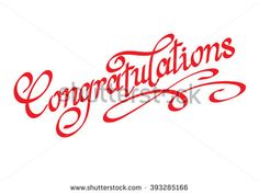 Image Result For Calligraphy Congratulations  Calligraphy
