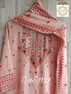 Pakistani Dresses Casual, Indian Gowns Dresses, Stylish Dress Designs, Stylish Dresses, Punjabi Suits Designer Boutique, Embroidery Suits Design, Kurti Designs Party Wear, Necklines For Dresses, Party Wear Dresses