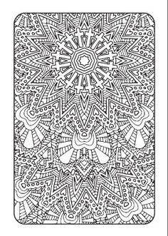 Art Therapy Adult Coloring Book Downloadable by AdvanceMultimedia