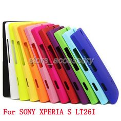 1X Stylish Hard PC Plastic For Sony Xperia S LT26i Micro Mesh Case Cover Skins