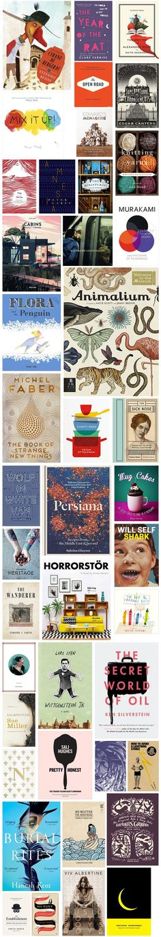 Book covers from Book Depository