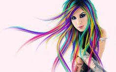 cabellos de colores para cada signo - Buscar con Google