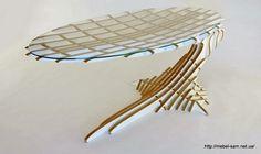 Фанерный стол One Balance Desk от Peter Qvist Lorentsen