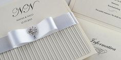 Coco Mono handmade pocketfold wedding invitations and cards