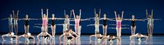 Boston Ballet in George Balanchine's Symphony in Three Movements, courtesy of The Balanchine Trust, photo by Gene Schiavone.