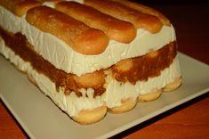 Cake Recipes, Dessert Recipes, Tiramisu Recipe, Romanian Food, Icebox Cake, Sweet Tarts, Sweet Desserts, Appetizers For Party, Hot Dog Buns
