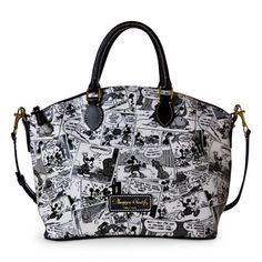 Mickey Mouse Comics Satchel by Dooney & Bourke   Bags & Totes   Disney Store have to have this bag...end of story!