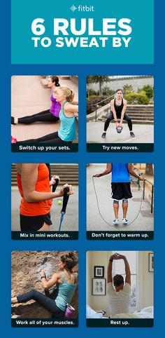 Rules to Sweat By From Fitbit