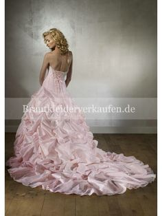 rosa brautkleid verkaufen
