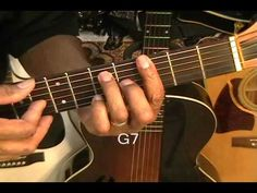 """▶ Bill Whithers 'Ain't No Sunshine"""" How To Play On Guitar Lesson Tutorial - YouTube"""