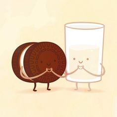 Whimsical Illustrations of Delicious Food Pairings As Best Friends - My Modern Met