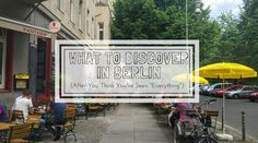What to discover in Berlin? Spend time outside of the centre and explore neighbourhoods, and spend some time in Berlin as a local might, and here's how. Central And Eastern Europe, Like A Local, Everything, Berlin, Thinking Of You, The Neighbourhood, Traveling, Germany, Thinking About You