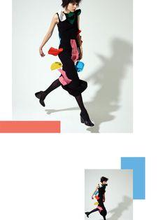 Pop Magazine photographed by Viviane Sassen (Pop Magazine)