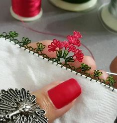 This Pin was discovered by Yas Needle Lace, Irish Crochet, Tatting, Needlework, Diy And Crafts, Applique, Embroidery, Sewing, Jewelry