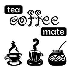 Love Mate, Sticker Citation, Ramadan Images, Coffee Bar Home, Cafe Me, Yerba Mate, House Rules, Feeling Sad, Decoration