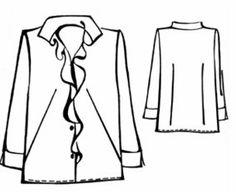 Blusas y camisas tallas grandes. Gorditas | EL BAÚL DE LAS COSTURERAS