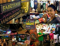 The original Night Market in Cambodia, with the most original products, come and meet the friendly people of the Angkor Night Market tonight!