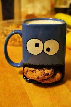 Cookie Monster mug-I want this!!!!!!