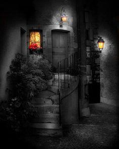Welcoming lights