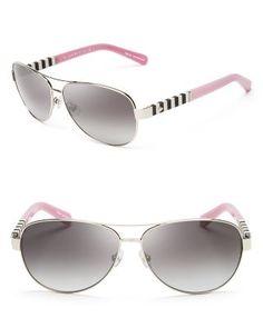 b268b75f4b6 kate spade new york Dalia Aviator Sunglasses