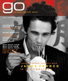 go | a magazine that moves | James Franco #cover