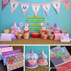 Items similar to Abby Cadabby Party Printables & Invitation on Etsy