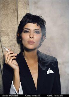 The best inspiration (smoking notwithstanding): Audrey Tautou vs Marion Cotillard | NonConformist