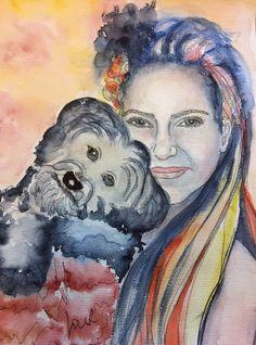 Friends Watercolor
