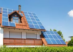 Residential installations of solar panels jump to a new record high for the second quarter in a row Solar Panel Cost, Solar Energy Panels, Solar Panels For Home, Best Solar Panels, Solar Panel System, Solar Energy System, Panel Systems, Residential Solar Panels, Landscape Arquitecture