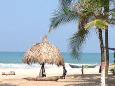 Playas paradisiacas de Riohacha - La Guajira Colombia.