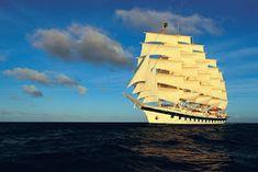 Cosas únicas : Royal Clipper, El mayor velero del mundo Royal Clipper, Tall Ships, Archaeology, Sailing Ships, Boat, History, Leo, Magazine, Travel