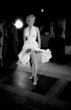 Marilyn Monroe by Sam Shaw, 1954