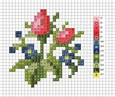 123 Cross Stitch, Cross Stitch Heart, Beaded Cross Stitch, Cross Stitch Flowers, Cross Stitch Designs, Cross Stitch Embroidery, Embroidery Patterns, Cross Stitch Patterns, Cross Stitch Geometric