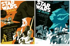 Star Wars Posters by Tom Whalen