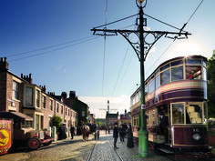 Beamish Museum in Durham is an open air museum telling the story of Northern England through historical re-enactment and restored artefacts