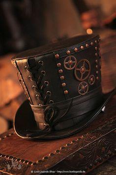 Gentleman Top Hat Steampunk Zylinder