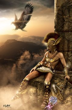 According to legend, Hermes was born in a cave on Mount Cyllene in Arcadia. Zeus had impregnated the nymph Maia at the dead of night while the gods slept. Hermes is the god of shepherds, land travel, merchants, weights and measures, literature and athletics, and known for his cunning and shrewdness. Most importantly, he is the messenger of the gods. Besides that he was also a minor patron of poetry. He was worshiped throughout Greece and festivals in his honor were called Hermoea.