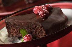 This looks so good! Outrageous Chocolate Cranberry Fudge Cake #cranberry #fudge #cake #recipe
