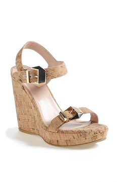 Stuart Weitzman 'Twofer' Wedge (Nordstrom Exclusive Color) available at  #Nordstrom